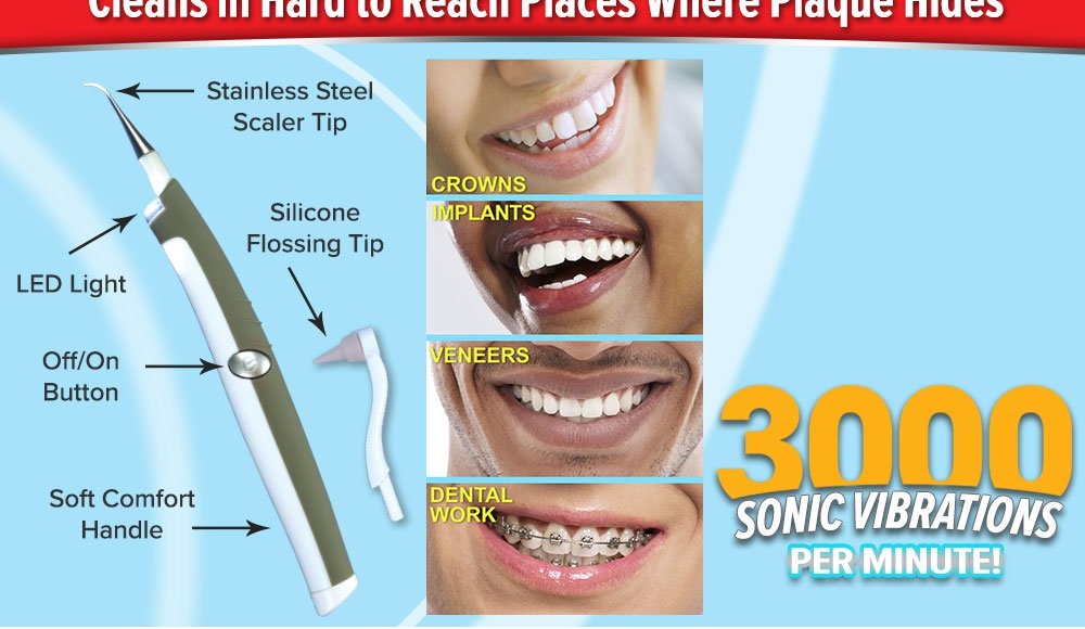 Super Sonic Dental Cleaning Kit
