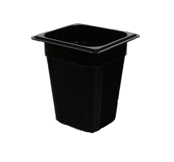 GN Container 1/6 200mm PC Black
