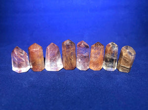 Rutilated Quartz Mini Towers - Gem Realm