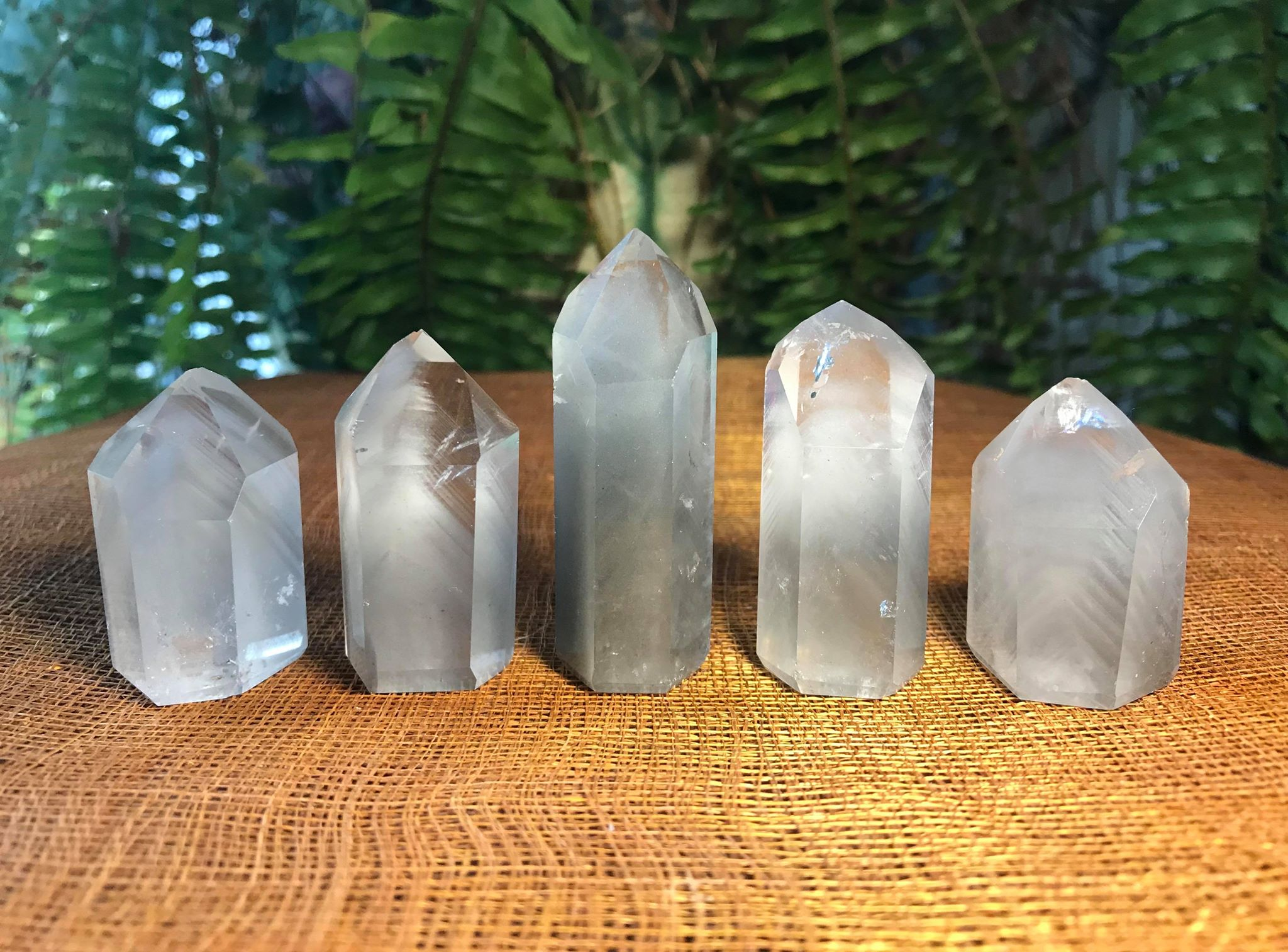 Grey Phantom Quartz Towers - Gem Realm