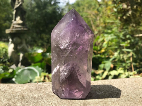 Amethyst Phantom Quartz Tower ~ Large