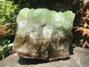 Green Calcite Specimen