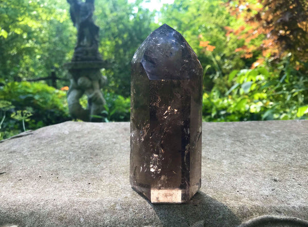 Smoky Quartz Tower ~ Large - Gem Realm