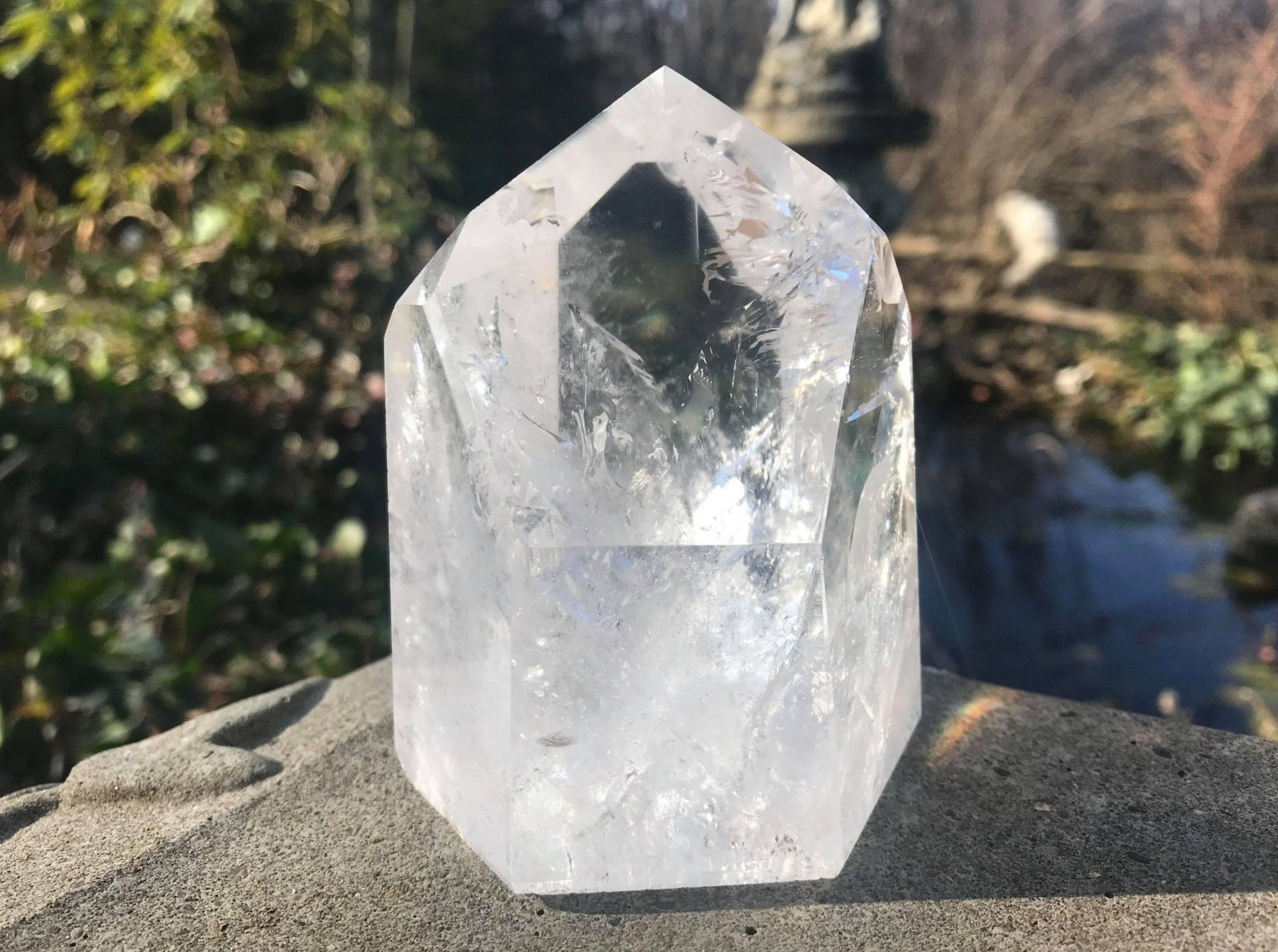 Quartz Crystal Tower ~ Large