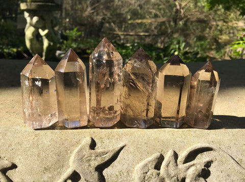 Smoky Quartz Towers ~ Medium