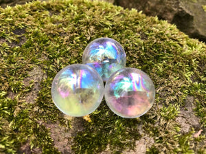 Angel Aura Quartz Spheres