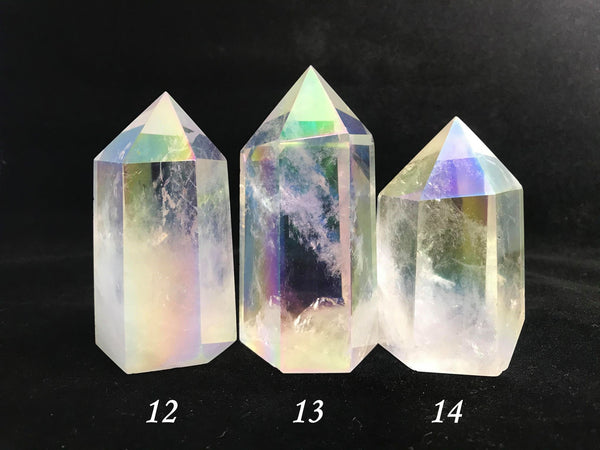 Angel Aura Quartz Towers ~ Medium ~ Large
