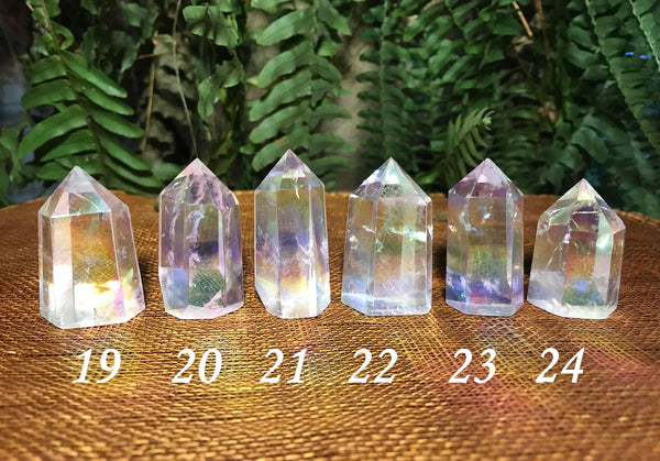 Angel Aura Quartz Towers