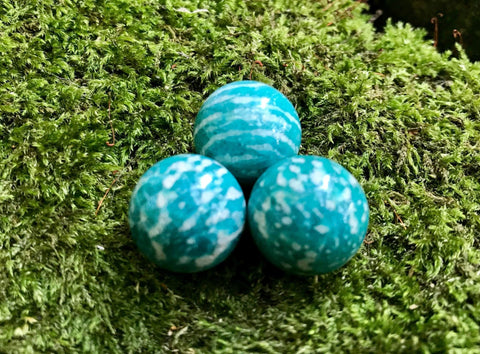 Amazonite Mini Spheres - Gem Realm