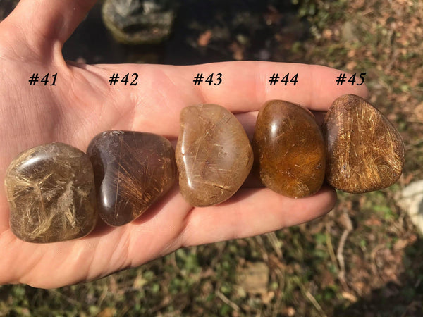 Rutilated Quartz ~ Large