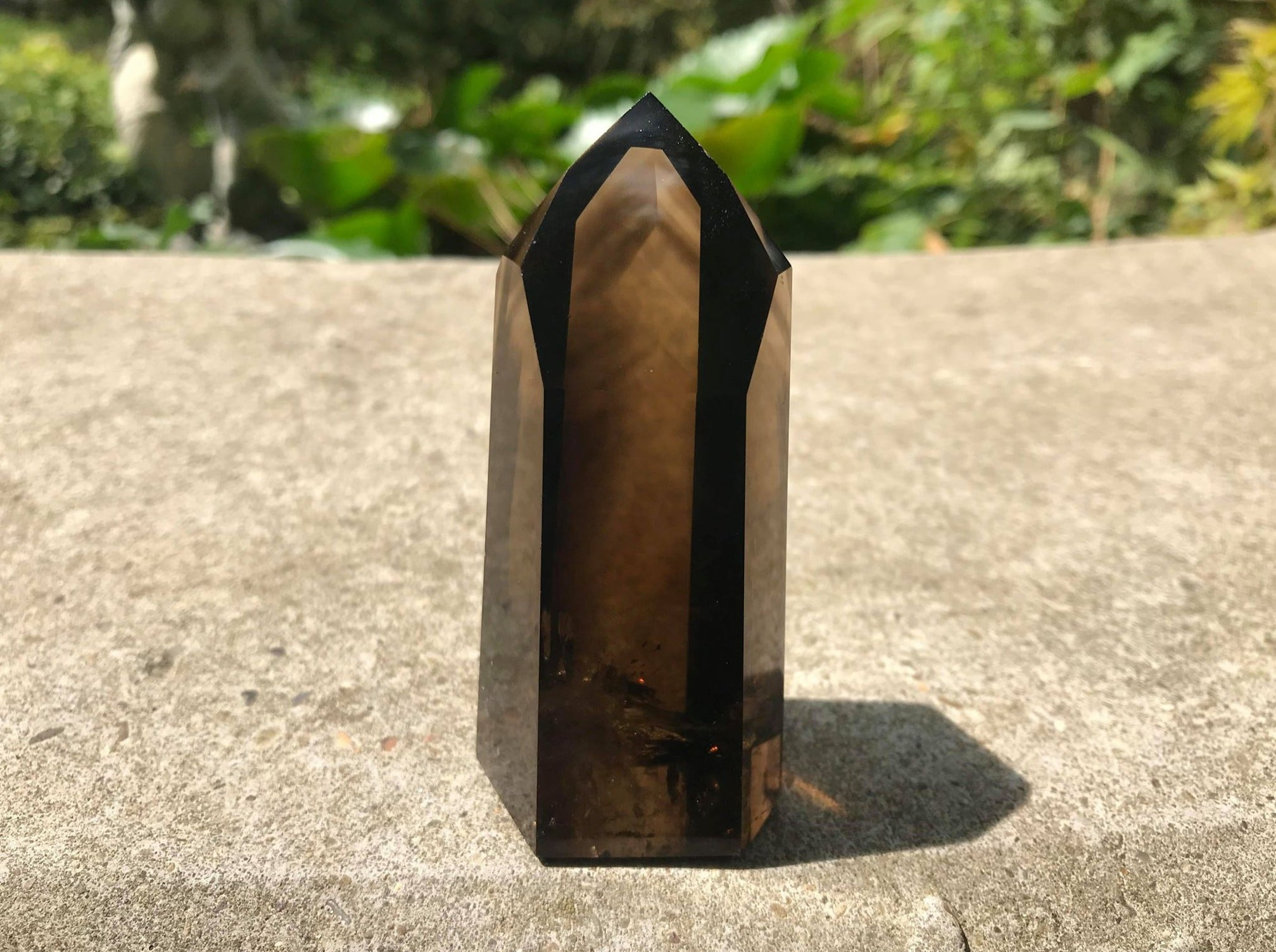 Smoky Phantom Quartz Tower