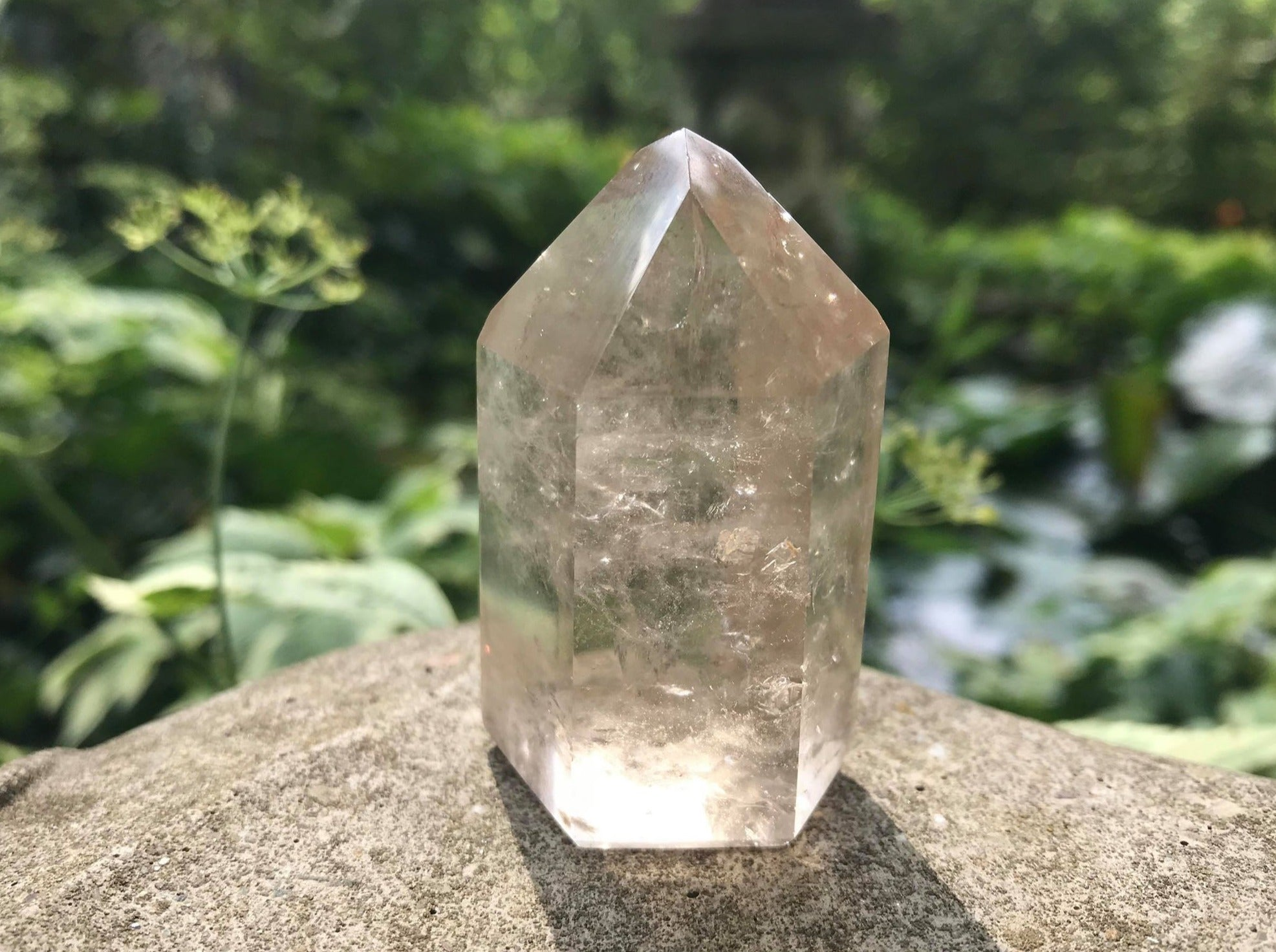 Smoky Quartz Tower - Gem Realm