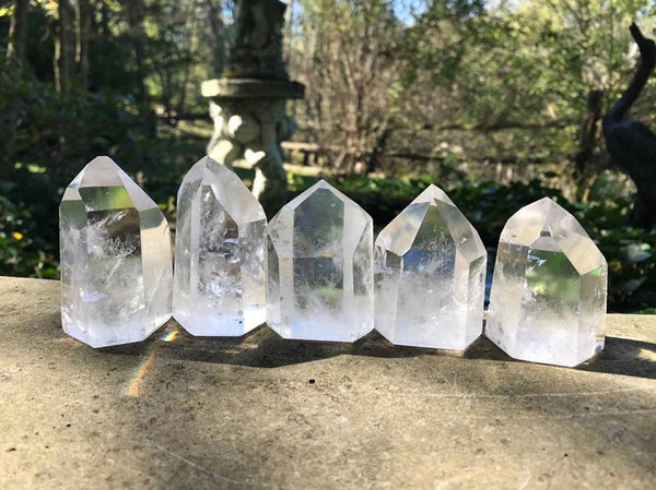 Quartz Crystal Towers