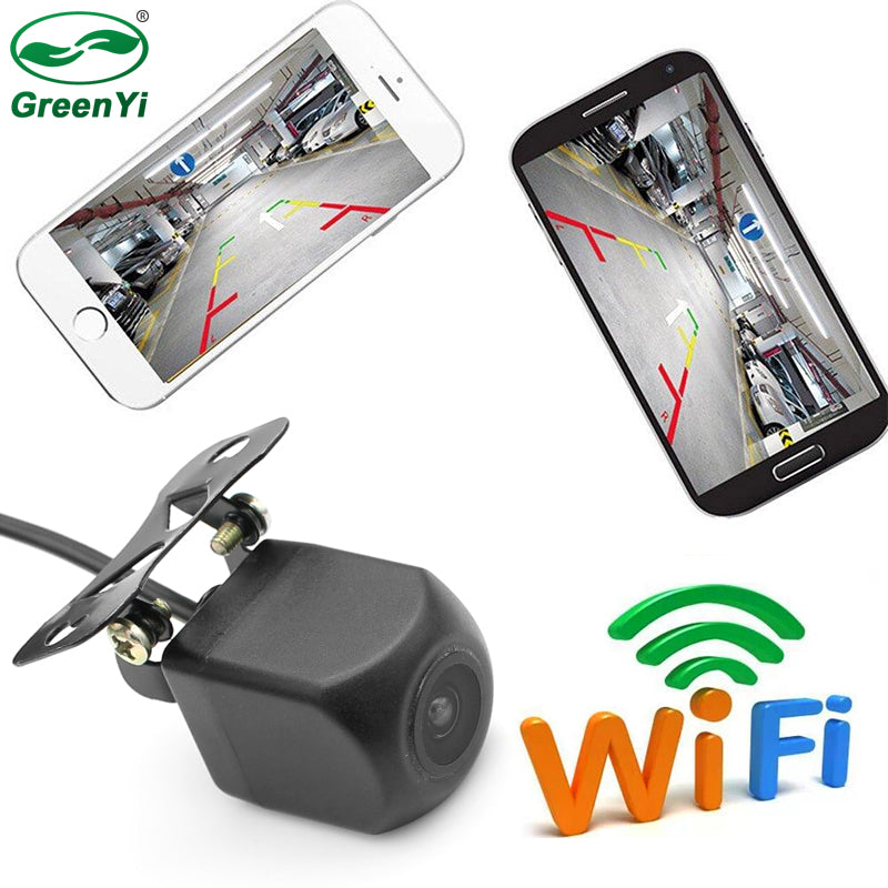 WIFI Rear View Camera with Night Vision for iPhone and Android