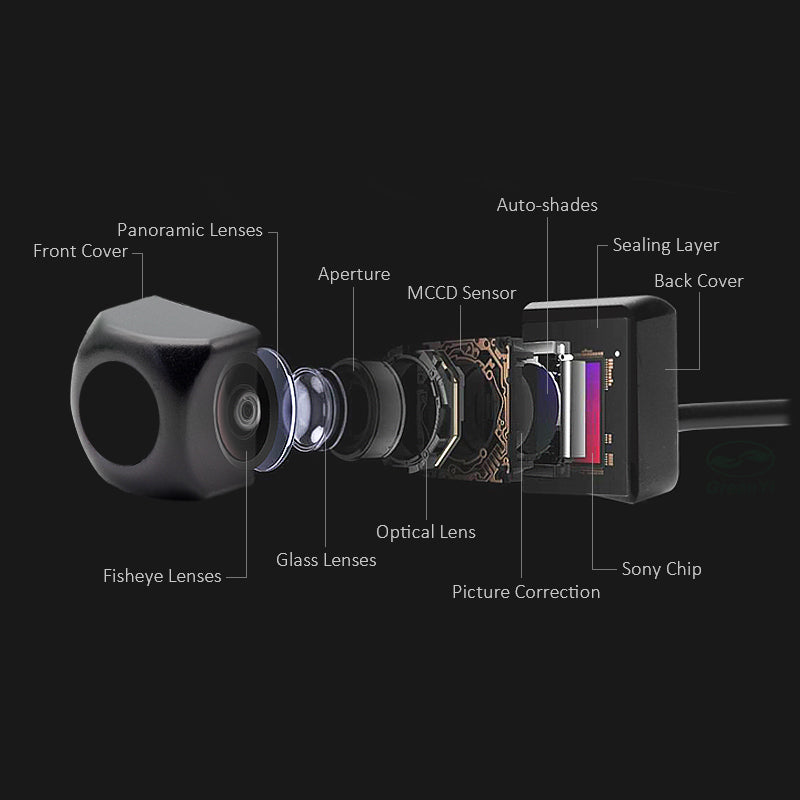 WIFI Rear View Camera with Night Vision for iPhone and