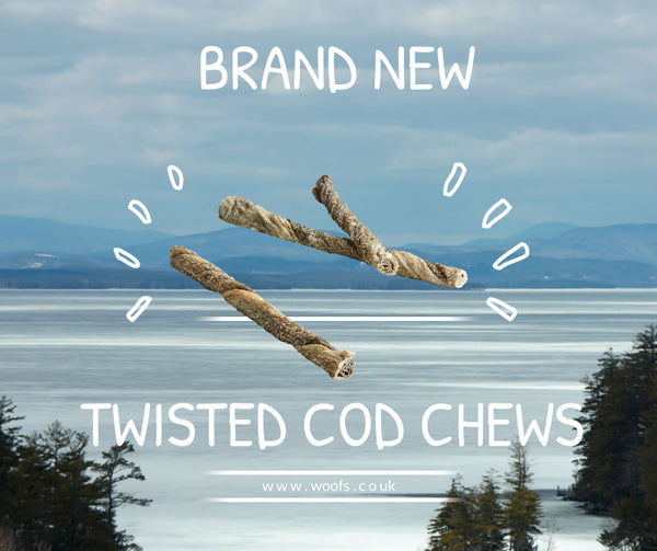 WOOFS Twisted Cod Chews