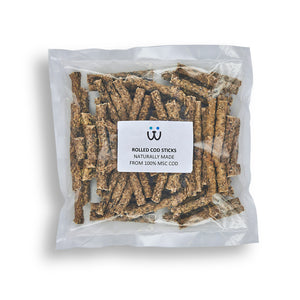Rolled Cod Sticks - WOOFS