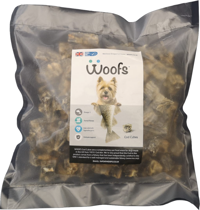Cod Cubes 2 x 400g bag offer