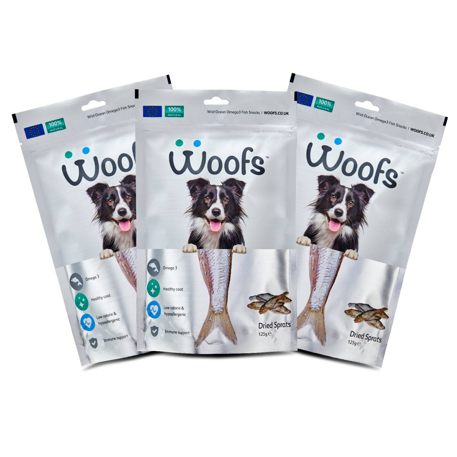 Dried Sprats - WOOFS
