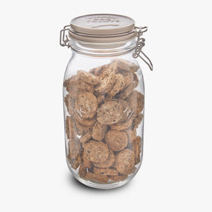 Cod Cookies Treat Jar - WOOFS