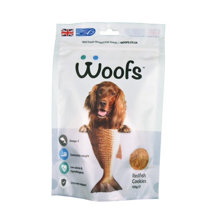 Redfish Cookies - WOOFS