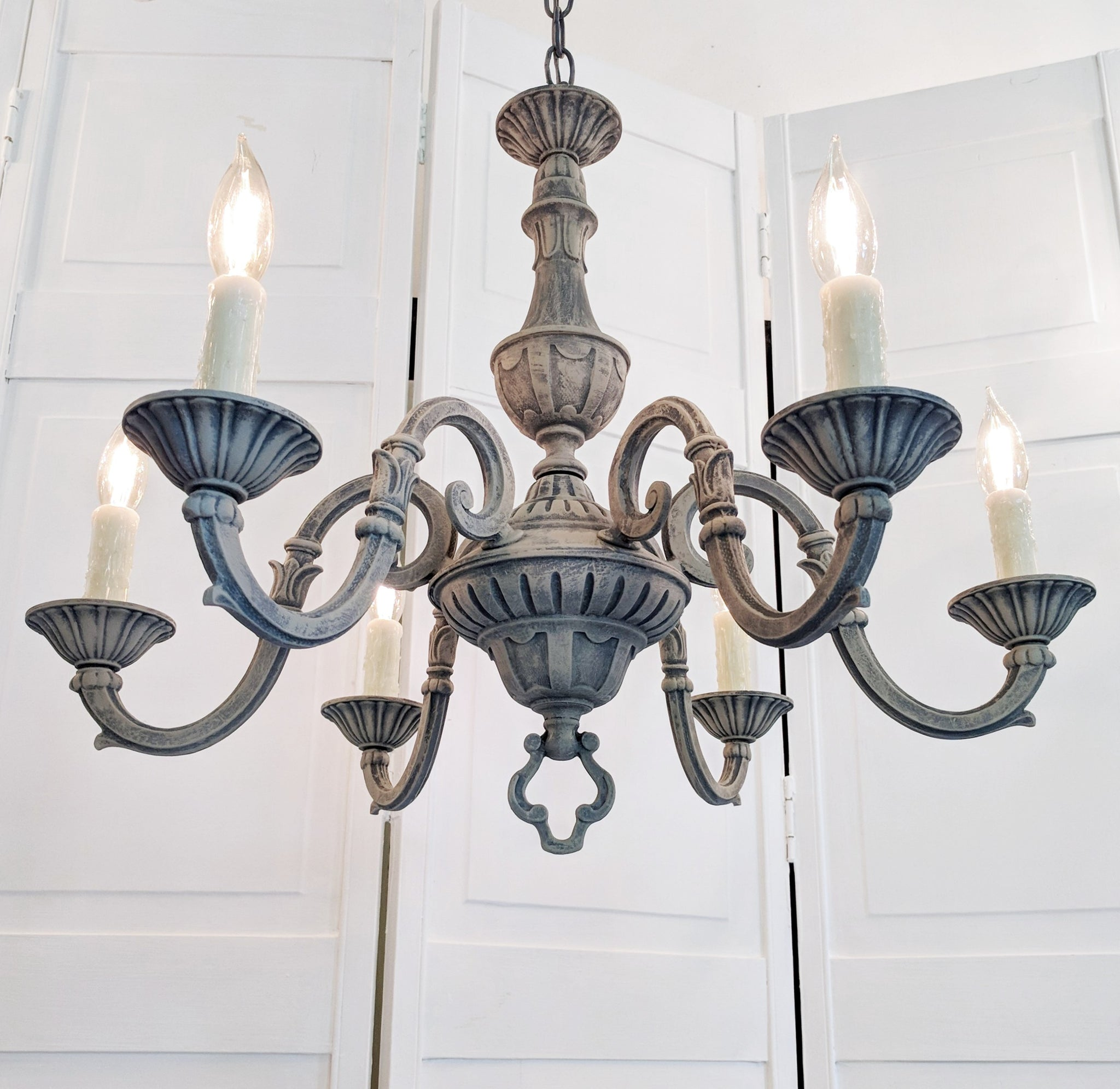cielo products chandeliers fine by antique sale for gold design leaf chandelier bd august in vintage lighting shipping light