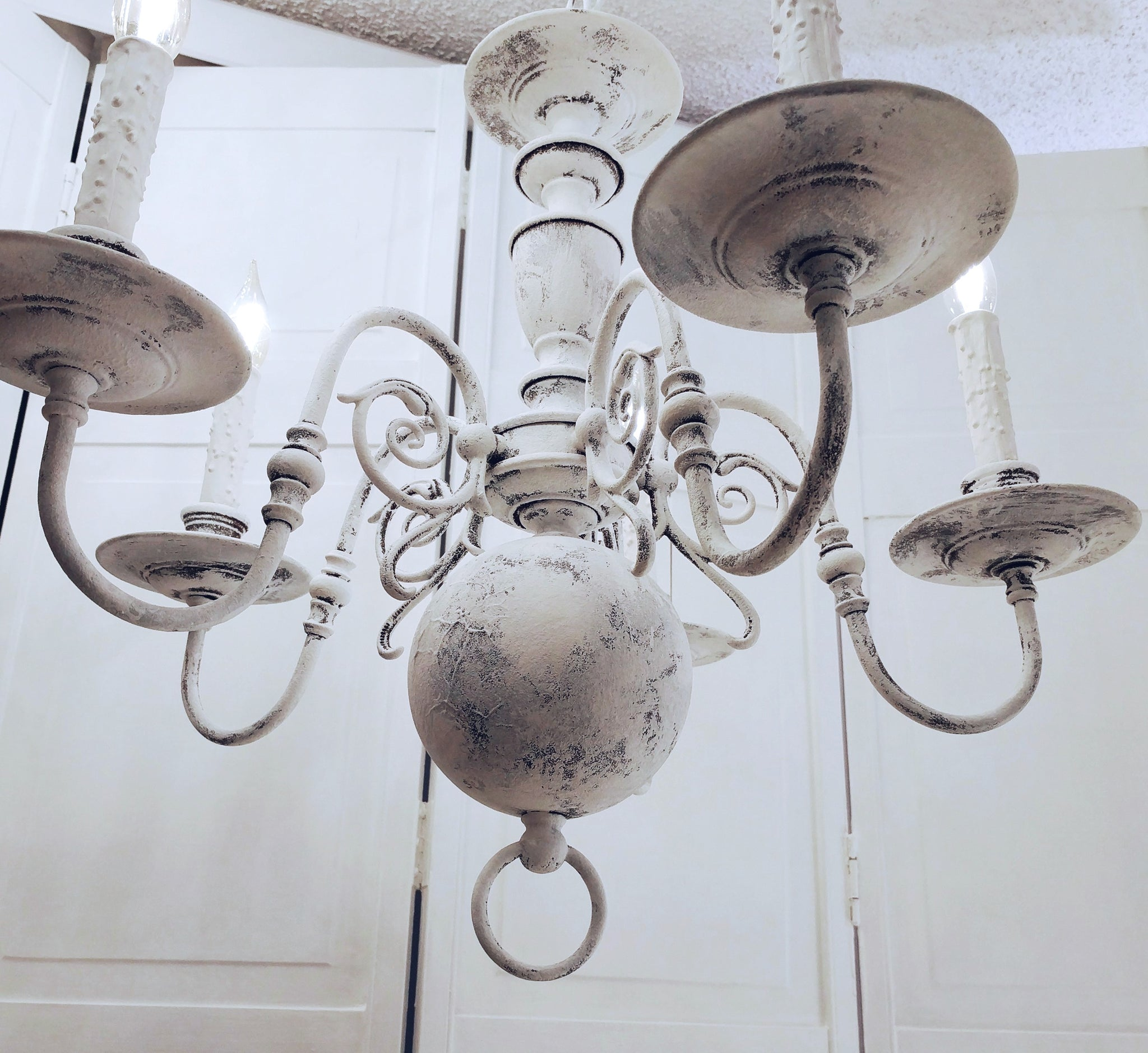 country chic lighting. Wonderful Lighting French Country Chandelier Lighting Vintage Whitewashed Shabby Chic  Rustic  For Country Chic Lighting D