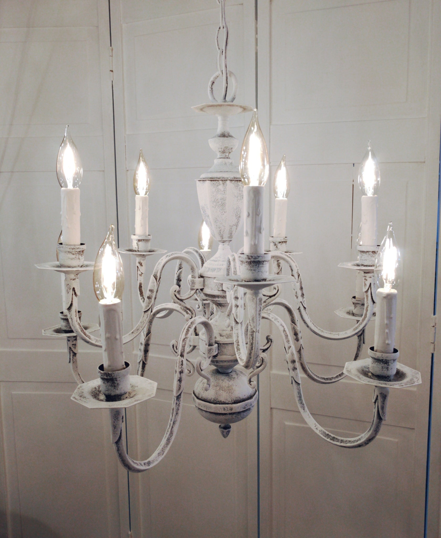 Chandelier lighting shabby chic distressed whitewashed old world chandelier lighting shabby chic distressed whitewashed old world aloadofball Choice Image