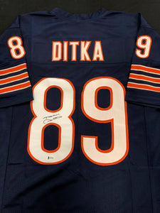 Mike Ditka Autograph Jersey