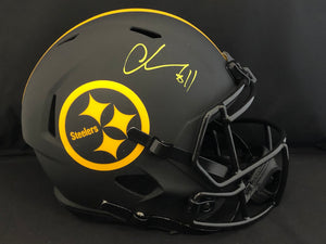 Chase Claypool Autograph Steelers Eclipse Full Size Helmet