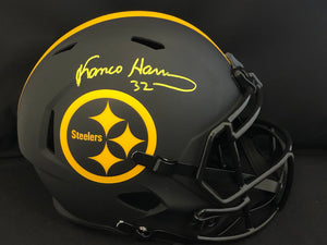 Franco Harris Autograph Steelers Eclipse Full Size Helmet
