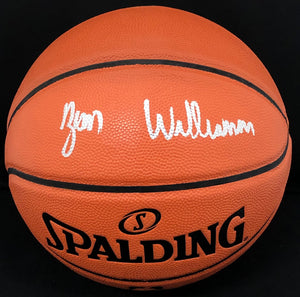 Zion Williamson Autograph Basketball - Fanatics