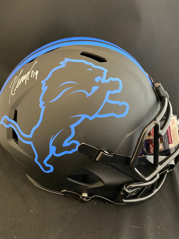 Kenny Golladay Autograph Lions Eclipse Full Size Helmet