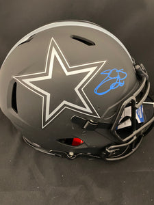 Emmitt Smith Autograph Cowboys Eclipse Pro Full Size Helmet