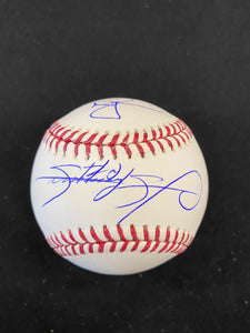 Mark McGwire / Sammy Sosa Dual Autograph Official Major League Baseball