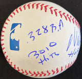 Wade Boggs Autograph Official Major League Stat Baseball