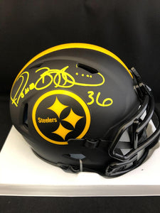 Jerome Bettis Autograph Steelers Eclipse Mini Helmet