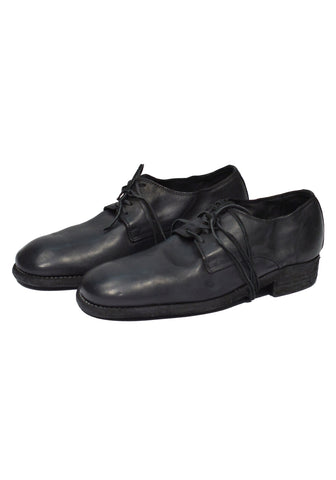 GUIDI 992 DONKEY FULL GRAIN CLASSIC DERBY SHOES BLACK - DOSHABURI Shop