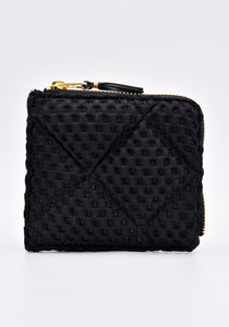 COMME DES GARCONS SA3100FT FAT TORTOISE ZIP WALLET BLACK | DOSHABURI Online Shop