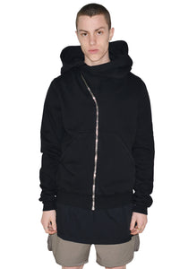RICK OWENS DRKSHDW DU20S5286 F MOUNTAIN SWEAT HOODIE BLACK - DOSHABURI Shop