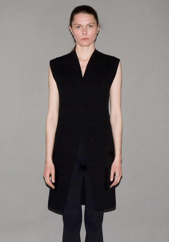 RICK OWENS SLEEVELESS KNIT JACKET | 50%OFF SALE | DOSHABURI Shop
