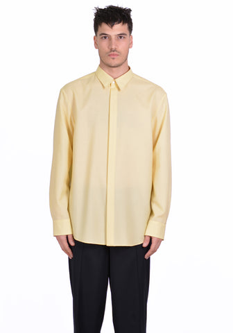 OVERCOAT S20T01-NKWS DROPPED SHOULDER SHIRT LEMON - DOSHABURI Shop