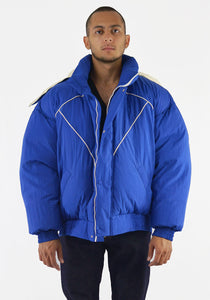PAUL & YAKOV CPH11 OVERSIZED PUFFER JACKET BLUE 19FW-DOSHABURI Online Shop