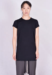 RICK OWENS RP20F2203 JA LEVEL SHORT SLEEVE T-SHIRT BLACK | DOSHABURI Online Shop