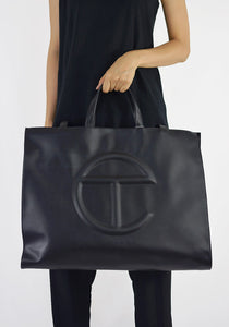TELFAR SHOPPING BAG LARGE BLACK 2019FW-DOSHABURI Online Shop