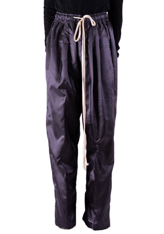 YUIKI SHIMOJI OVERSIZE WIND PANTS DARK GREY - DOSHABURI Shop