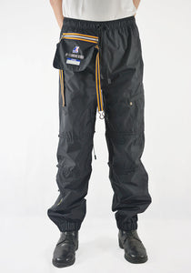 AFTER HOMEWORK K-WAY EDGARD WATERPROOF PANTS BLACK - DOSHABURI Shop
