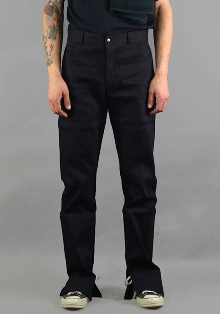 AFTER HOMEWORK PEDRO CLASSIC BLACK DENIM PANT - DOSHABURI Shop