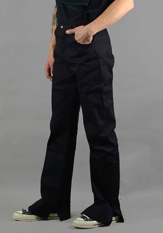AFTER HOMEWORK PEDRO CLASSIC BLACK DENIM PANTS - DOSHABURI Shop