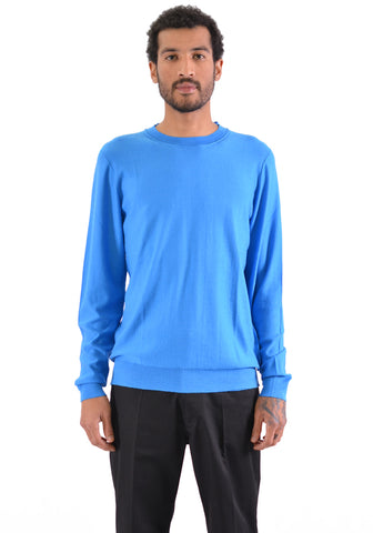 BIELO TRICI KNIT SWEATER BLUE - DOSHABURI Shop
